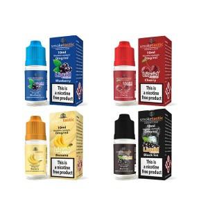 12 x Smoketastic 12MG 10ML (50VG/50PG) Flavour: 12 x Black Jack