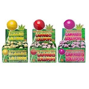 Dr Greenlove Cannabis Lollipops Flavour: 1 x Bubble gum X Candy Kush Lollipop