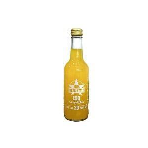 Bear State 20MG Orange Crush CBD Infused 330ml Soft Drink Qty: 1 x 330ML