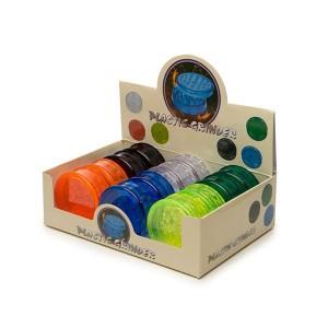 2 Parts Mixed Colour Plastic Grinder - HX033
