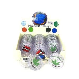 12 x 2 Parts 4Smoke Plastic Grinder - HX033A