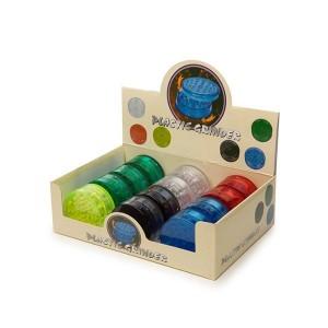 2 Parts Mixed Colour Plastic Grinder - HX048