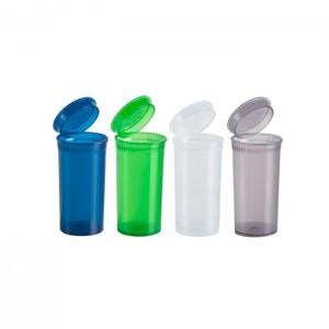 315 x 13 Dram Pop Top Storage Bottles - Mixed Colours Qty: x 1