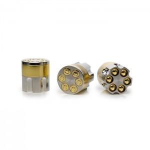 12 x 42mm 3 Parts Zinc Metal Bullet Grinder - 8301