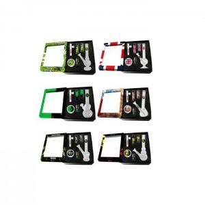 24 x 4Smoke Glass Bong Gift Set - GB64/5