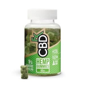 CBDFX CBD Gummies with Turmeric & Spirulina  Antioxidant