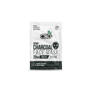 CBDfx 20mg CBD Face Mask - Charcoal