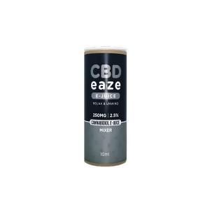 CBD Eaze 250MG CBD 10ml E-Liquid Flavour: Mixer
