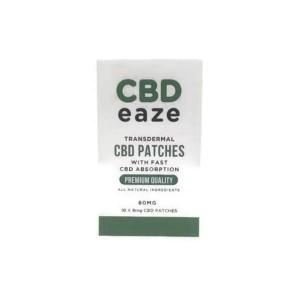 CBD Eaze Trans Dermal 80mg CBD Patches