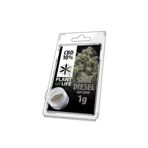 CBD Hash 1g Sour Diesel 10%