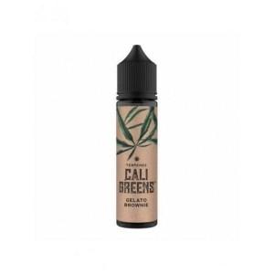 Terpenes Cali Greens 50ml Shortfill E-Liquid (70VG/30PG) Flavour: Gelato Brownie