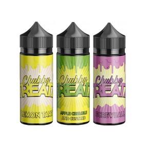 Chubby TREATZ 0mg 100ml Shortfill High VG Flavour: Apple Crumble and Custard