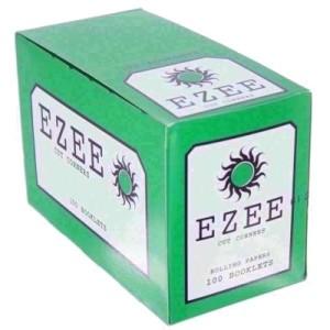Ezee Green Cut Corner Standard Rolling Papers