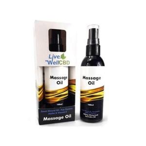 Live Well CBD 100ml Massage Oil