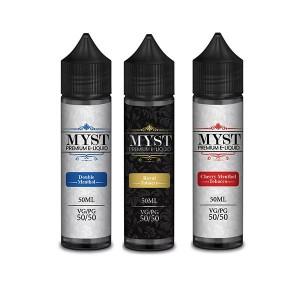 MYST Premium E-Liquid Menthol Range 0mg 50ml Shortfill (50VG/50PG) Flavour: Menthol Tobacco