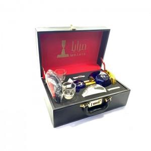 Mazaya Portable Glass Hookah In Suitcase - NO.1 SY1