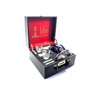 Mazaya Portable Glass Hookah In Suitcase - NO.2 SY2