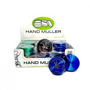 12 x D&K 3 Parts Handmuller Metal Grinder - DK 50271-3
