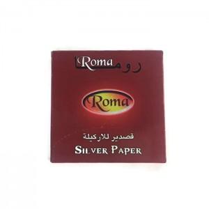Roma Silver Shisha Hookah Papers - Aluminium Foil