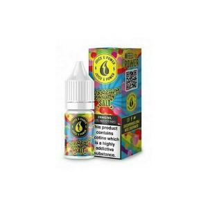 Juice N Power 11mg 10ml Nic Salt (50VG/50PG) Flavour: Bubblegum Rainbow