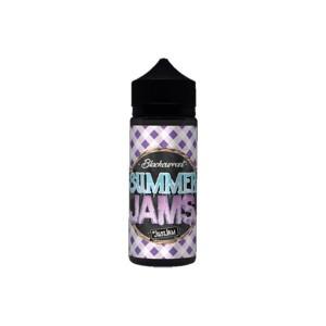 Summer Jam by Just Jam  0mg 100ml Shortfill (80VG/20PG) Flavour: Blackcurrant