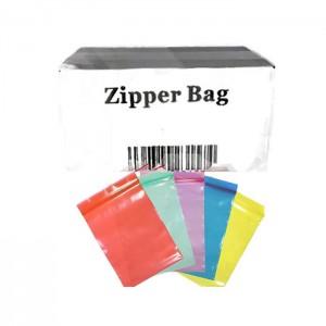5 x Zipper Branded  30mm x 30mm Blue Bags