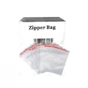 5 x Zipper Branded 30mm x 40mm Clear Baggies