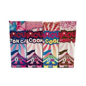 Circus 100ml Shortfill 0mg (80VG/20PG) Flavour: Cotton Candy