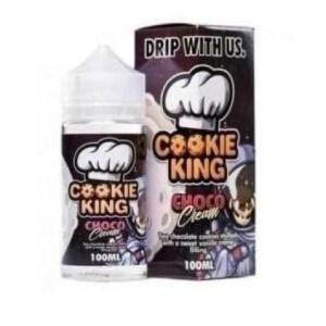 Cookie King 0mg 120ml Shortfill (70VG/30PG) Flavour: Choco Cream