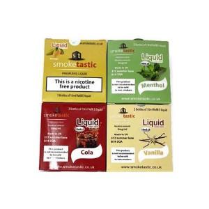 Smoketastic 3x10ml 0mg (50VG/50PG) Flavour: Spearmint