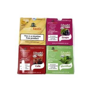 Smoketastic 3x10ml 6mg (50VG/50PG) Flavour: Cherry Ice