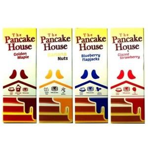 The Pancake House 0mg 100ml Shortfill (70VG/30PG) Flavour: Blueberry flapjacks